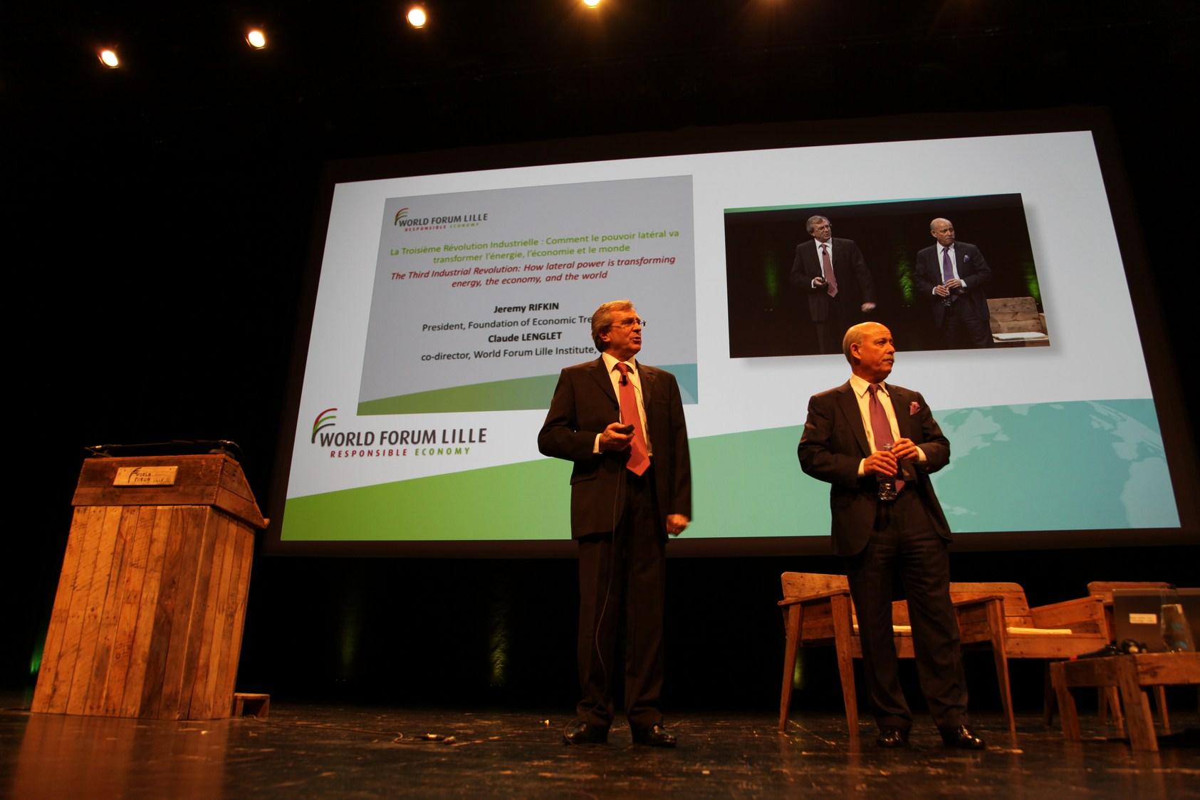 Philippe Vasseur et Jeremy Rifkin