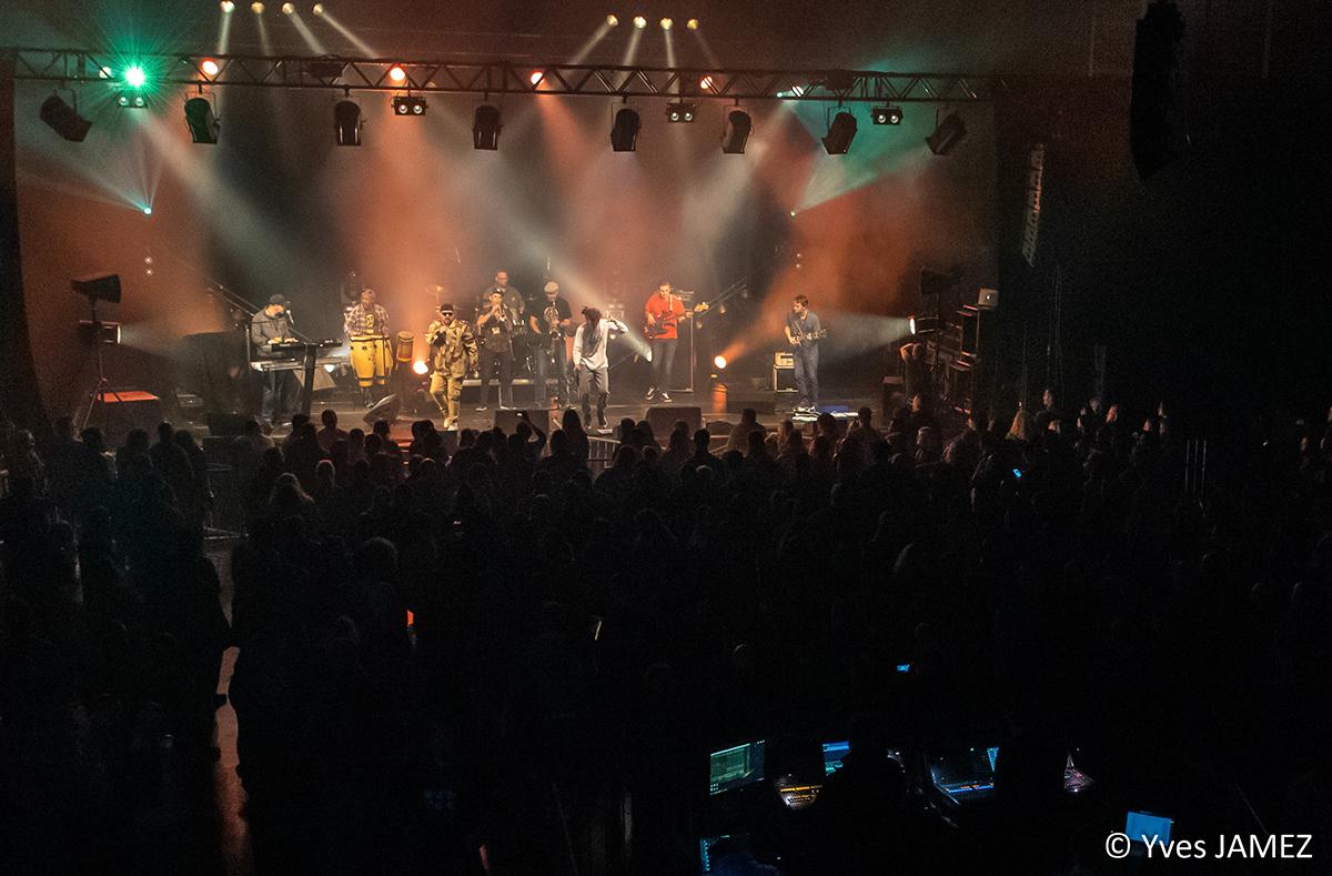 Concert de Reggae, Hall Rosati, Artois Expo