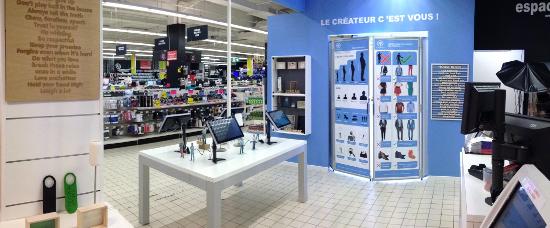 Yoomake atelier d'impression 3D de Auchan