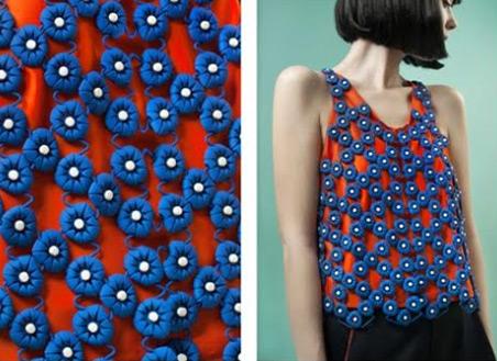 Une robe réalisée en impression 3D par Anastasia Ruiz
