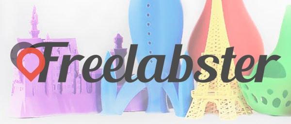 Freelabster rentabilise votre imprimante 3D