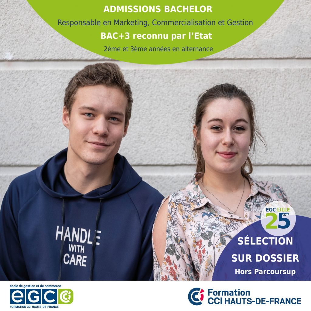admission bachelor egc lille