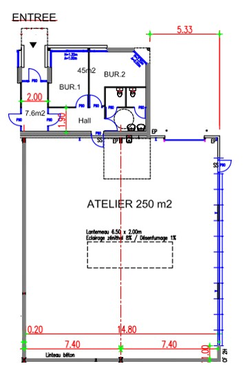 Doret 1_Calais plan atelier A9