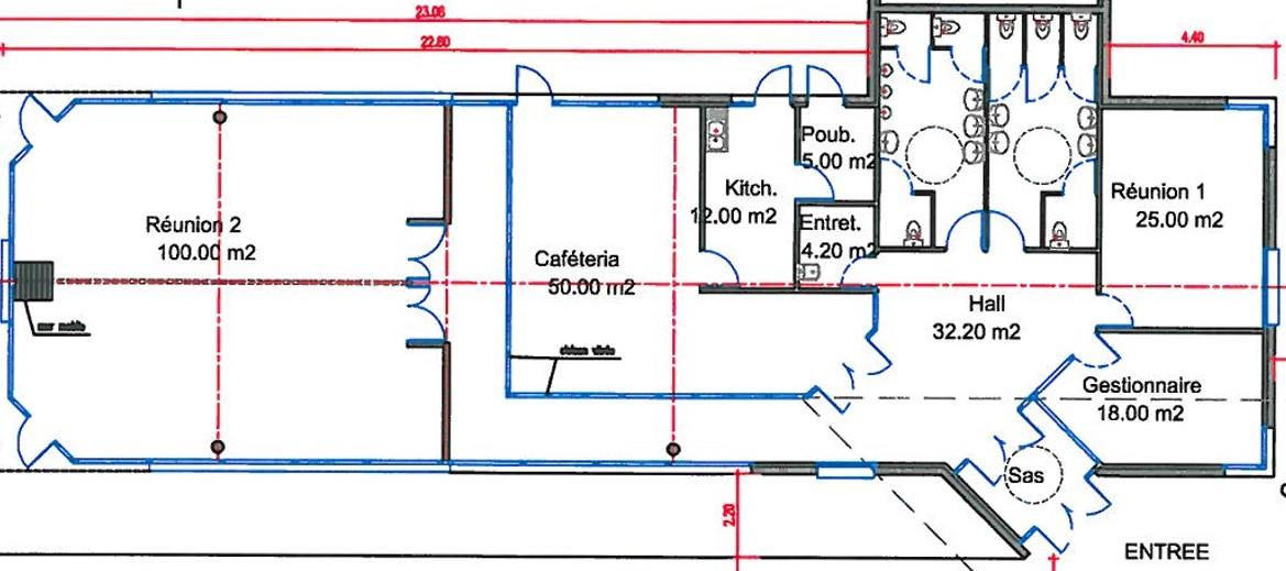 Doret 1_Calais plan bureau B9