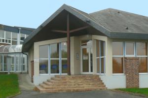 Façade pépiniére d'Abbeville location de bureaux et ateliers
