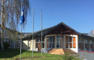 Extérieur pépinière d'Abbeville location de bureaux et ateliers
