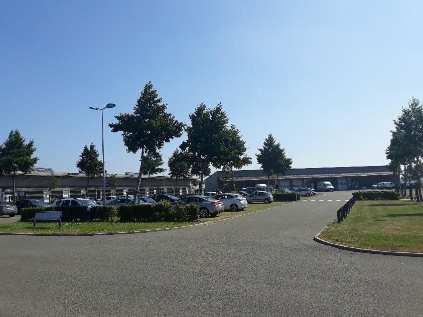 Pépinière EnR Oust-Marest vue Parking
