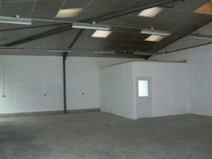Intérieur atelier pépinière Abbeville