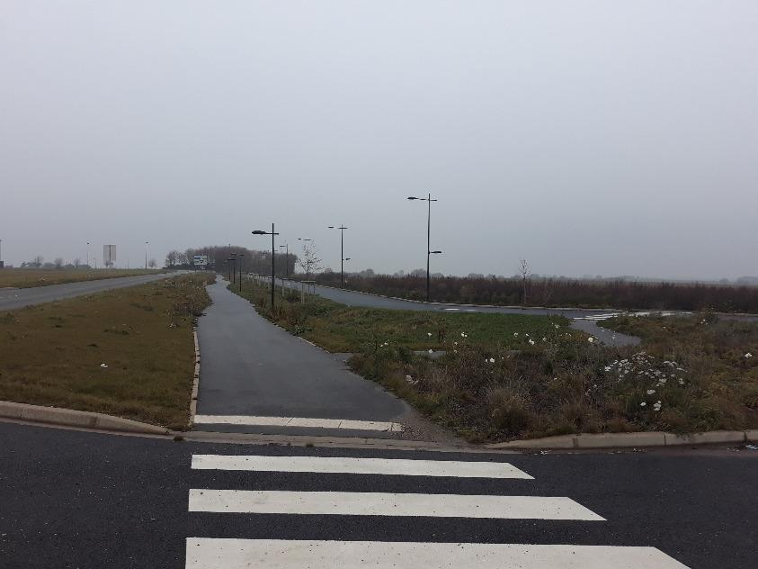 Vue Parc industriel Baie de Somme Zone Est