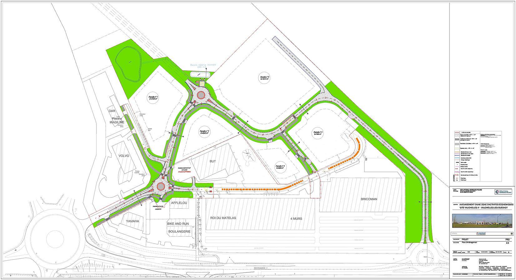 Plan d'aménagement Vauchelles 2