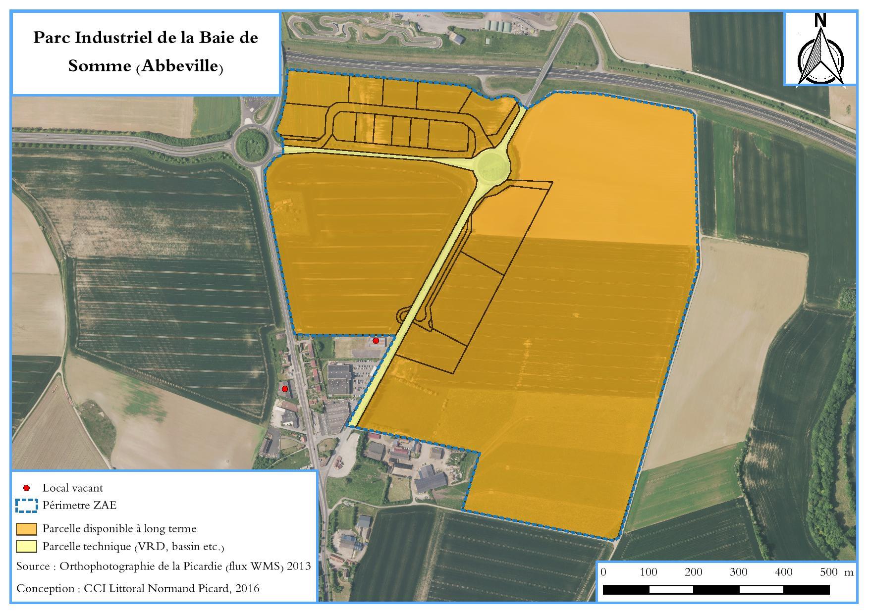 Plan Parc industriel Baie de Somme Abbeville