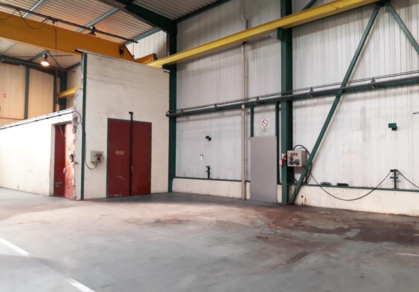 Bâtiment industriel à louer à Verquigneul sur le Technoparc Futura.
