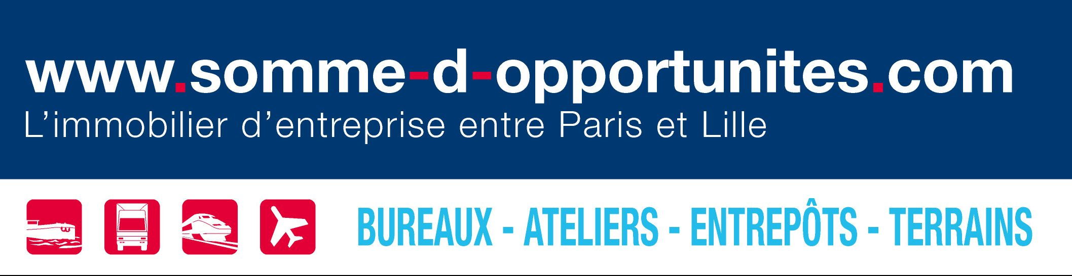 Somme immobilier entreprise